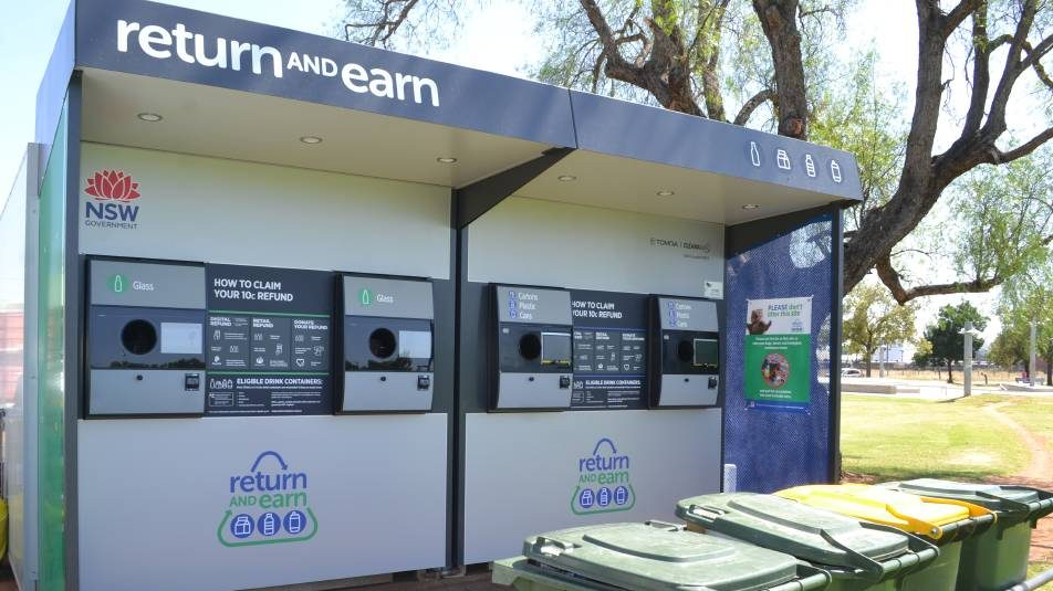 Dubbo Reverse Vending Machines